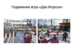 Подвижная игра «Два Мороза»