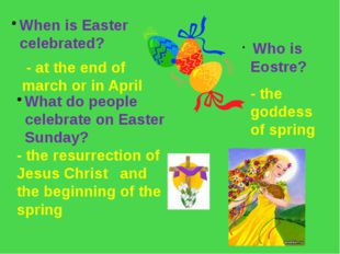 When is Easter celebrated? What do people celebrate on Easter Sunday? - the r