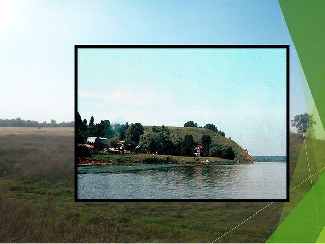 Крепость на Оленьей горе была очень большой, а общий её периметр ровнялся пер...