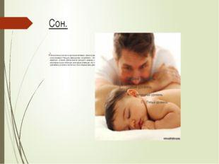 Сон. 2. Положительно влияет на организм человека. Много споров вокруг того, с