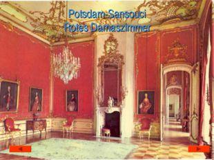 Potsdam-Sansouci Rotes Damaszimmer