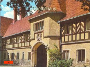 Goethehaus.