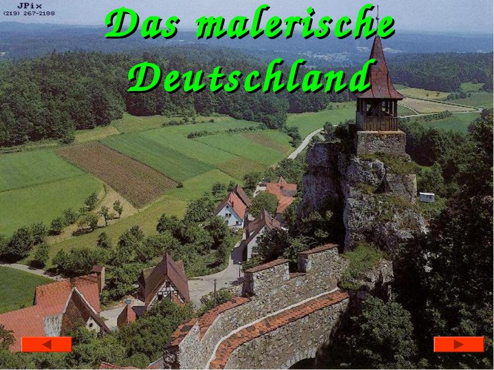 Das malerische Deutschland