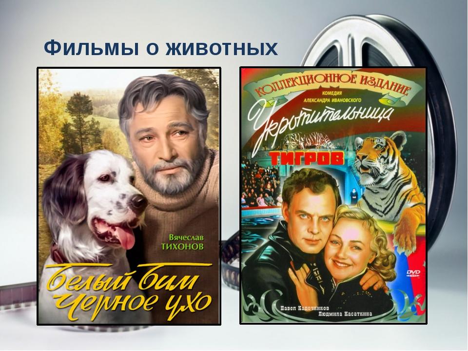 Фильмы о животных «Белый Бим Черное Ухо», «Ко мне, Мухтар!», «Тропой бескорыс...