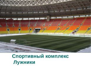Спортивный комплекс Лужники