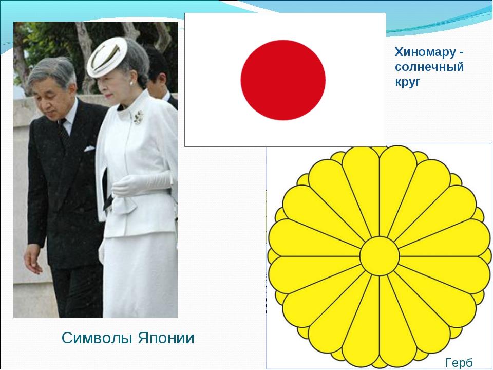 Герб Хиномару - солнечный круг Символы Японии