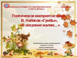 Презентация к уроку литературного чтения в 4 классе Автор презентации: Есипов