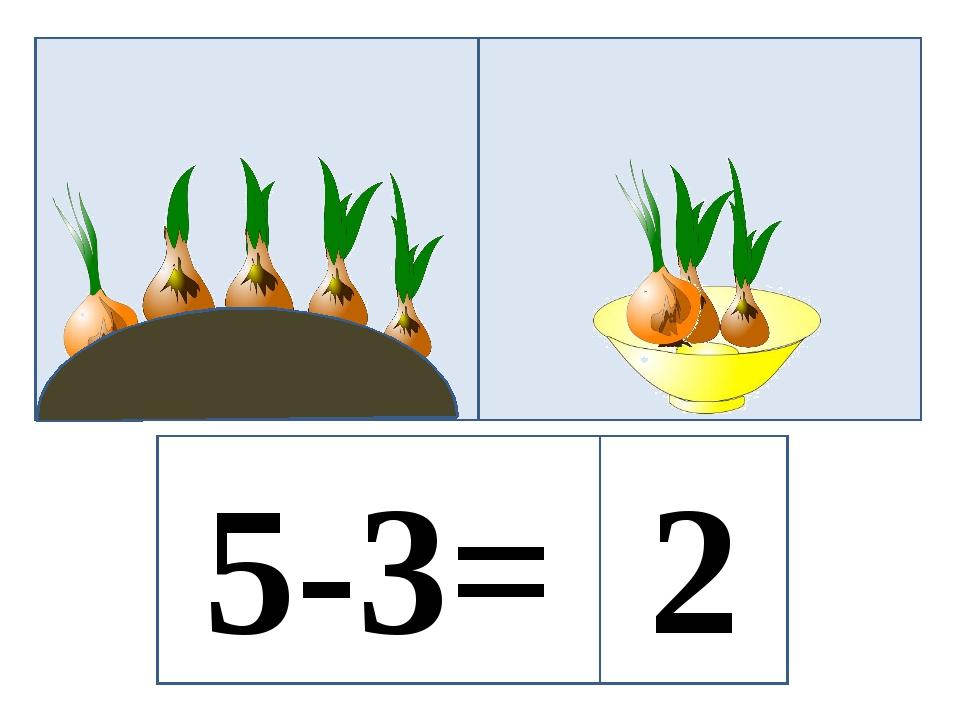 5-3= 2