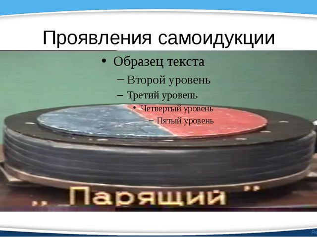 Проявления самоидукции ProPowerPoint.Ru