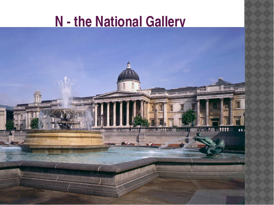 N - the National Gallery