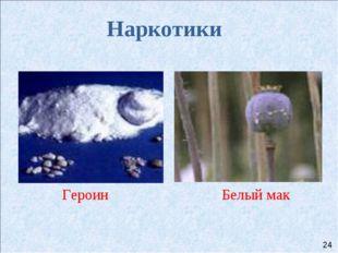 Наркотики Героин Белый мак 24