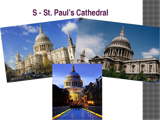 S - St. Paul's Cathedral