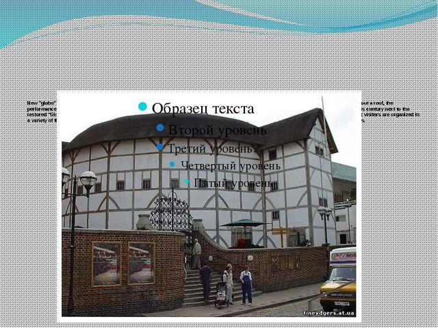 "New ""globe"" was opened in 1997 under the name ""Shakespeare's globe theatre""...."