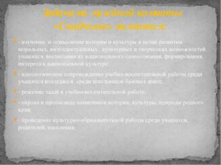 - изучение и осмысление истории и культуры в целях развития моральных, интелл