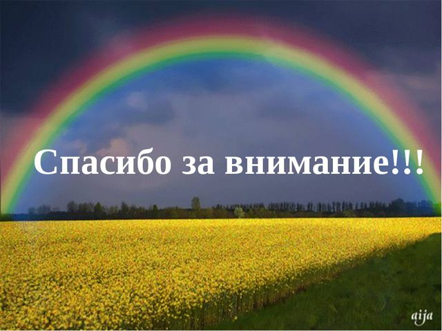 КРОССВОРД Спасибо за внимание!!!