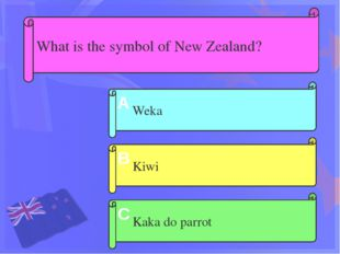 How do New Zealanders call themselves ? Zealanders Maori Kiwi A B C