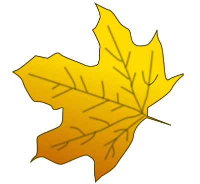 Leaf 3 by inky2010 - Mixed Fall clip art.