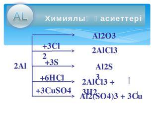 Алюминий қосылыстары тұрақты үш валентті.Алюминий және оның қосылыстары екіда