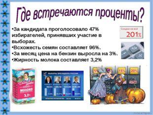 За кандидата проголосовало 47% избирателей, принявших участие в выборах. Всхо