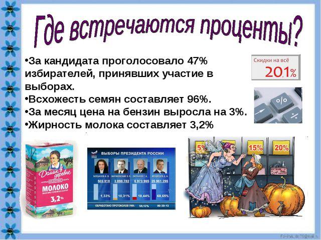 За кандидата проголосовало 47% избирателей, принявших участие в выборах. Всхо...
