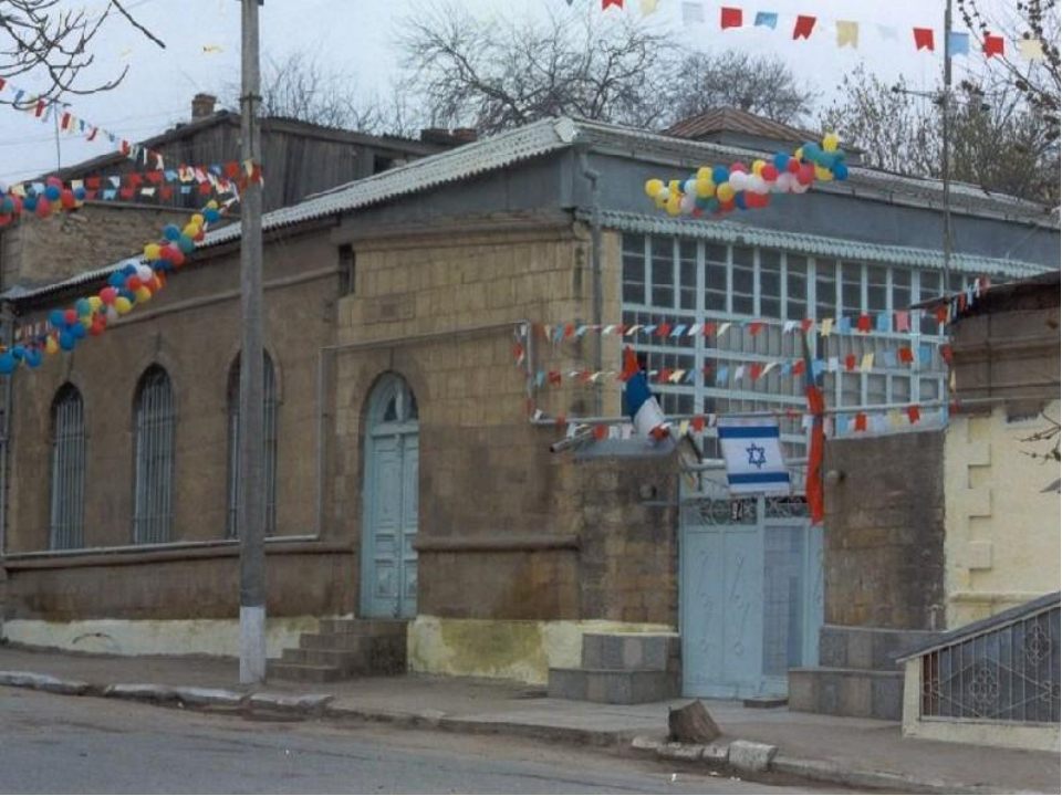 дербент синагога фото бокам покрываем акриловой