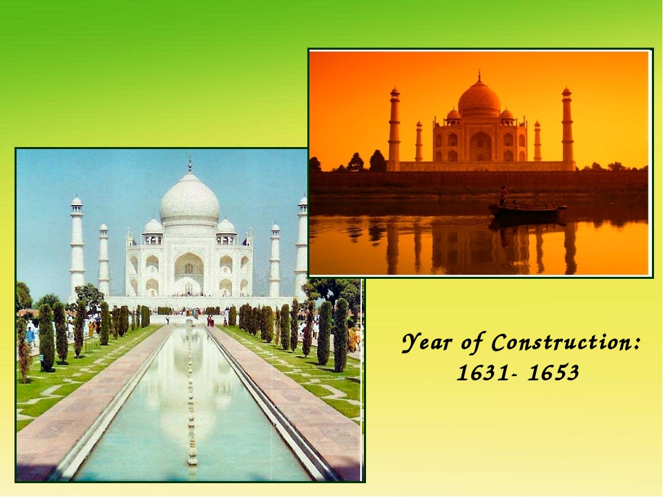 Year of Construction: 1631- 1653