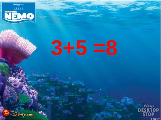 3+5 =8