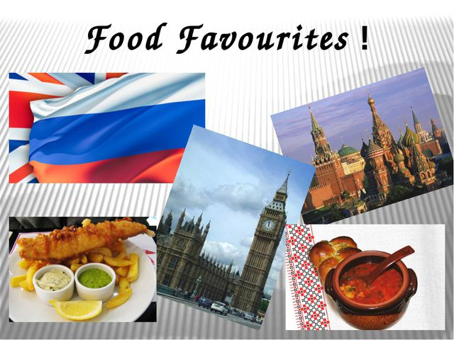 Food Favourites !