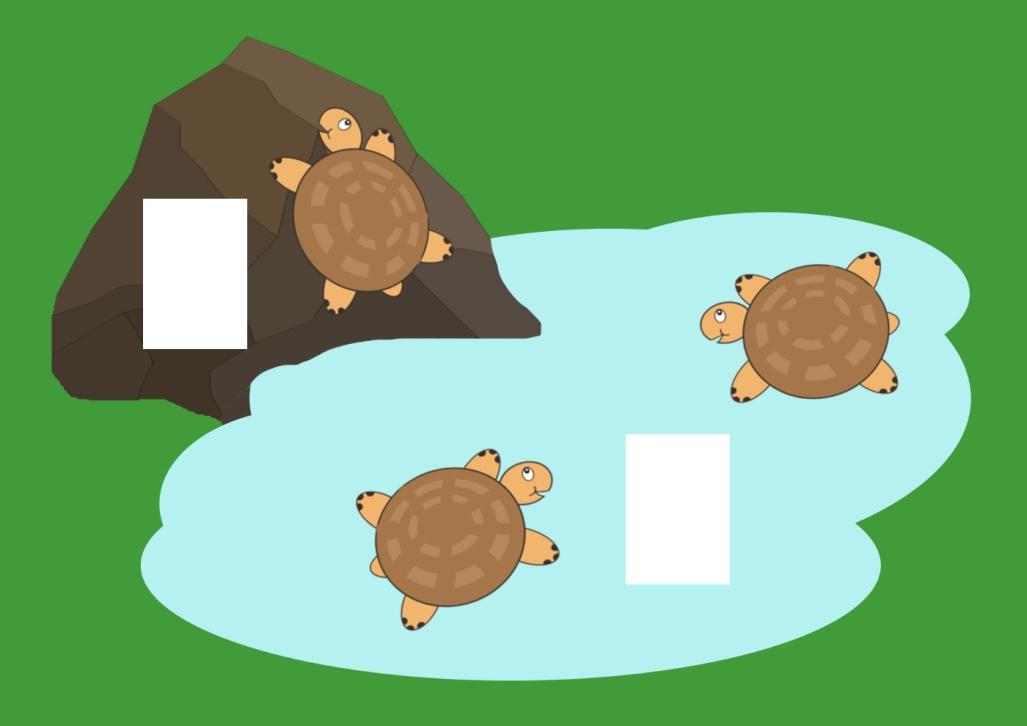 Сосчитай черепах - игра