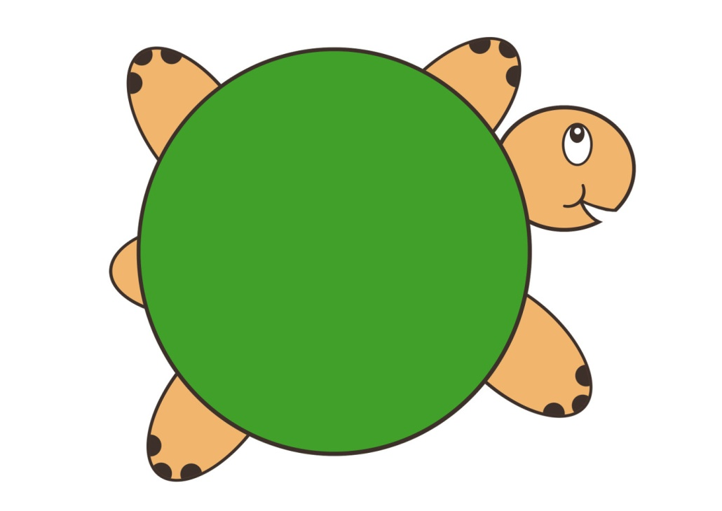 Черепаха, рисунок
