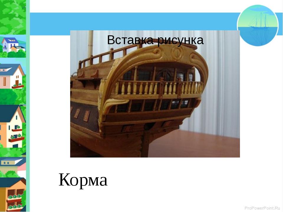 Корма ProPowerPoint.Ru