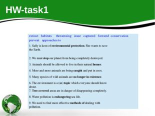HW-task1 extinct habitats threatening issue captured forested conservation pr