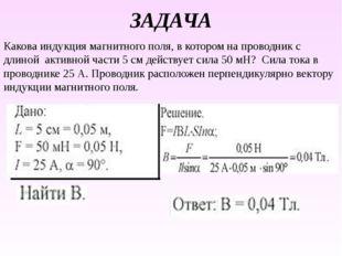 Расчетная формула силы Лоренца