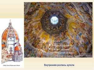 Внутренняя роспись купола