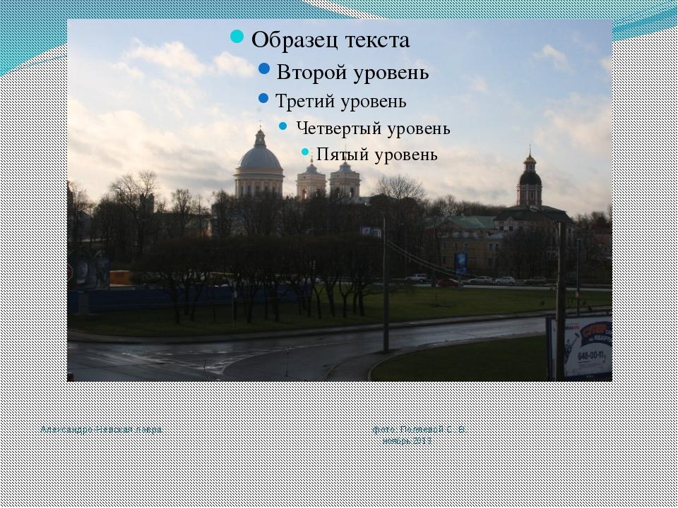 Александро-Невская лавра фото: Поляевой С. В. ноябрь 2013