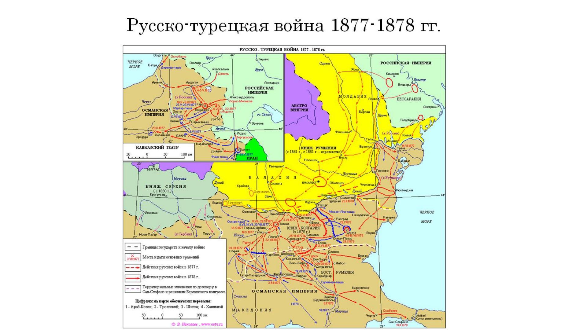 Русско-турецкая война 1877-1878 гг.
