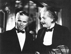Эйнштейн познакомился с Чарли Чаплином