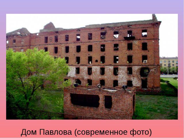 Дом Павлова (современное фото)