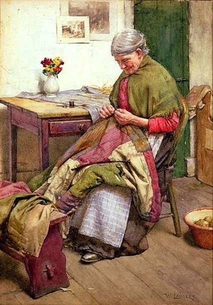 D:\Мои документы\Pictures\77923963__Walter_Langley__The_Old_Quilt.jpg