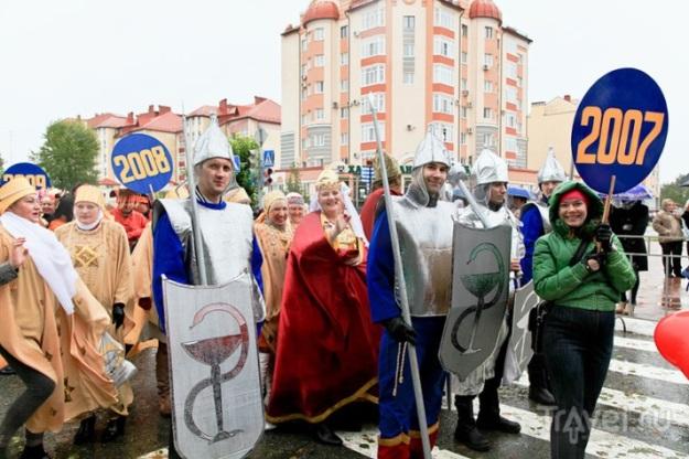 Праздничный карнавал в Югорске