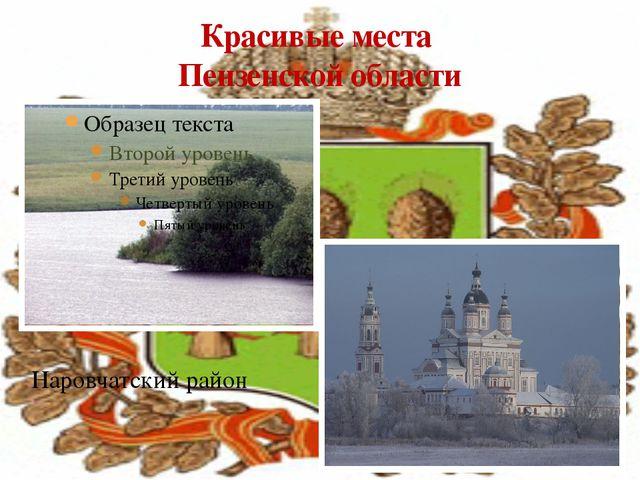 Красивые места Пензенской области Наровчатский район