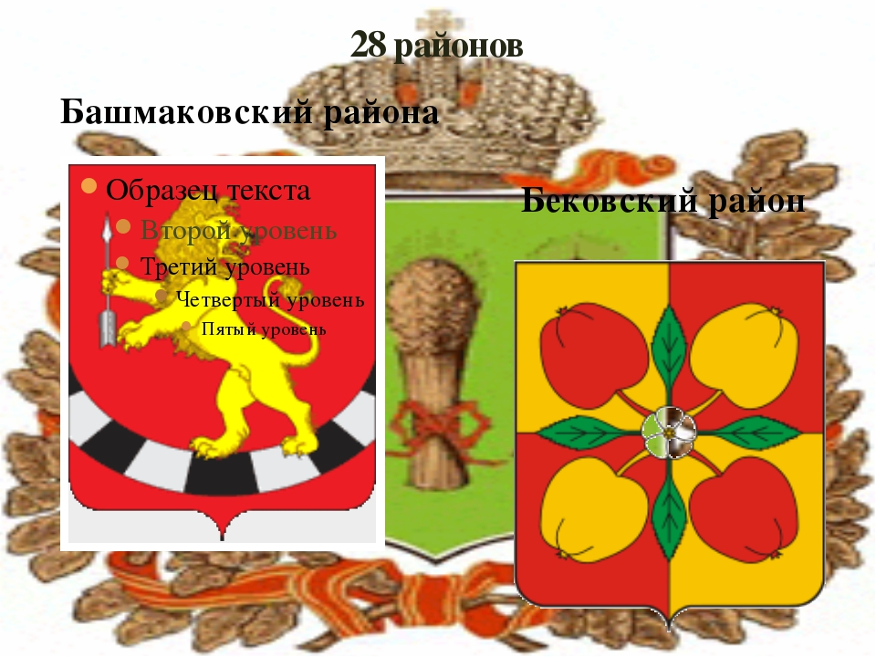 28 районов Башмаковский района Бековский район