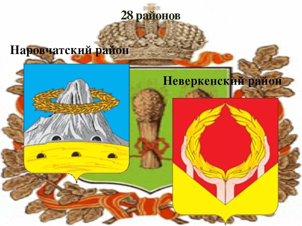 28 районов Наровчатский район Неверкенский район