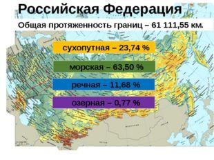 Административно-территориальное устройство РФ Основные положения Конституции