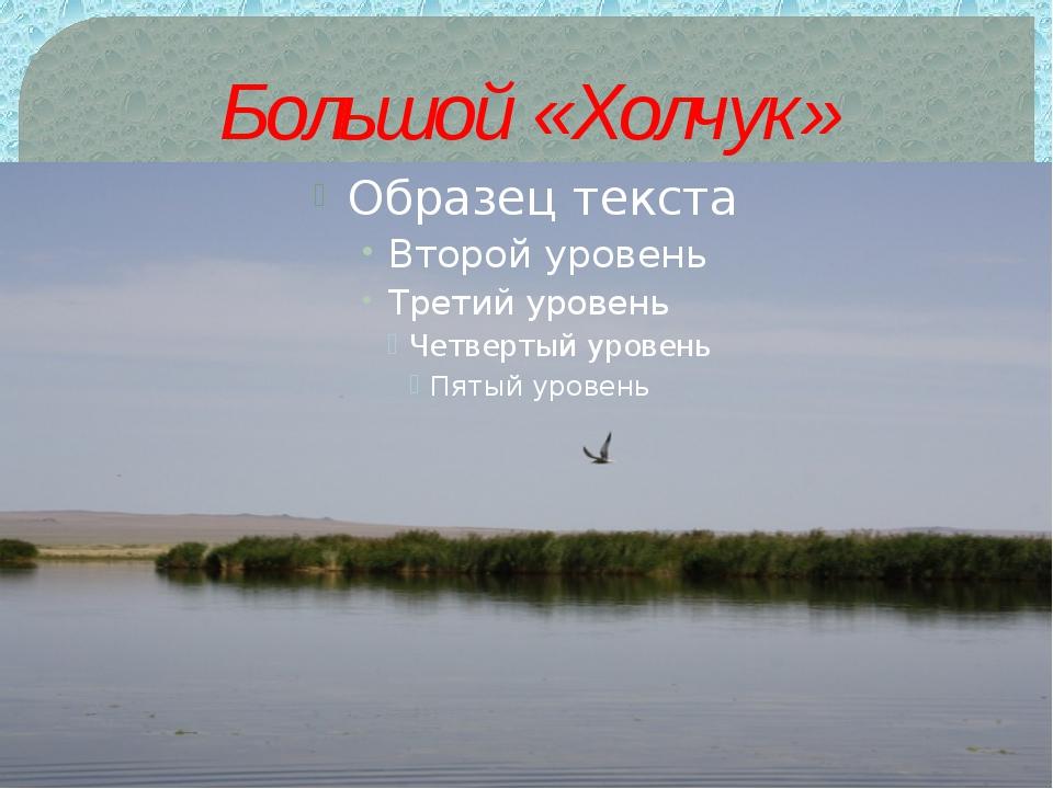 Большой «Холчук»