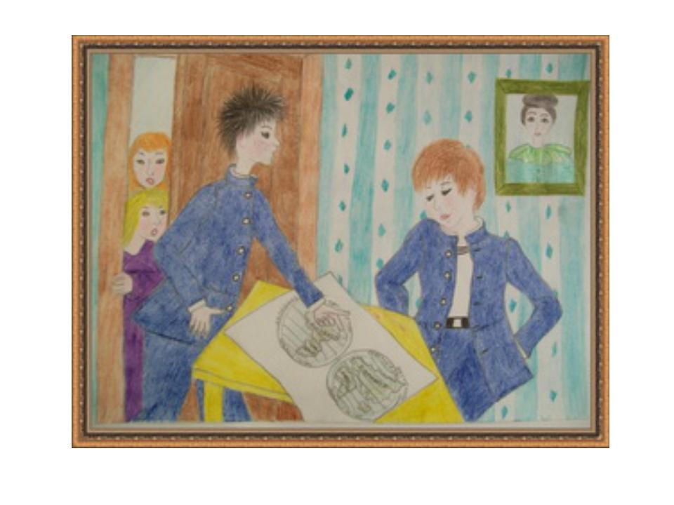 Рисунок к сказке чехова мальчики