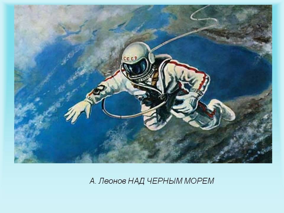 Первый выход человека в космос состоялся 18 марта 1965 года. . Это удивительно
