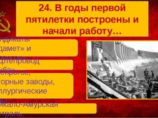 В. Днепрогэс, Тракторные заводы, металлургические заводы. А. Синдикаты «Прод