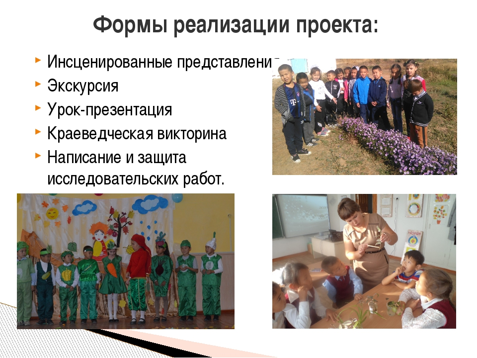 Инсценированные представления Экскурсия Урок-презентация Краеведческая виктор...