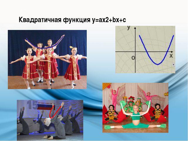 Квадратичная функция у=ax2+bx+c